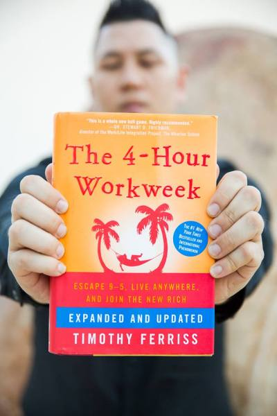My latest book recommendation. The 4-Hour Workweek by Timothy Ferriss!