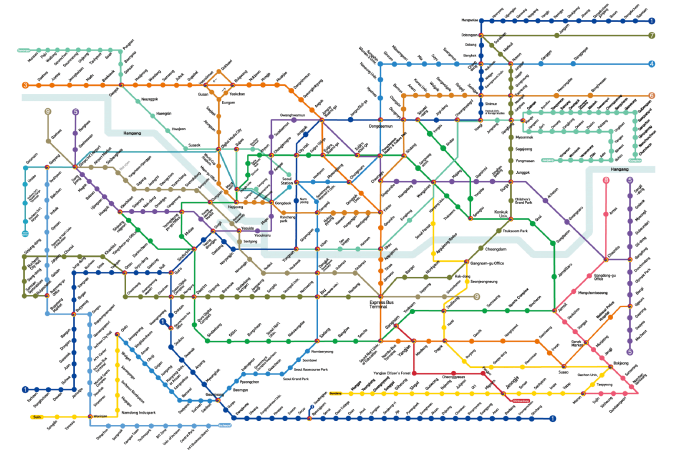 Subway-map-korea-English